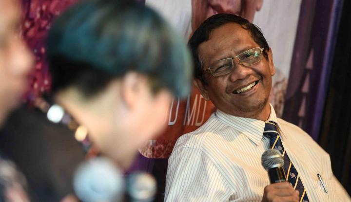 Mahfud MD Harap Kubu Jokowi dan Prabowo Tak Bikin Masalah Baru - Warta Ekonomi