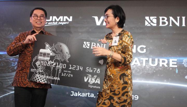 BNI Terbitkan Kartu Kredit Pakai Teknologi Nirkontak, Ada Cashback hingga Poin