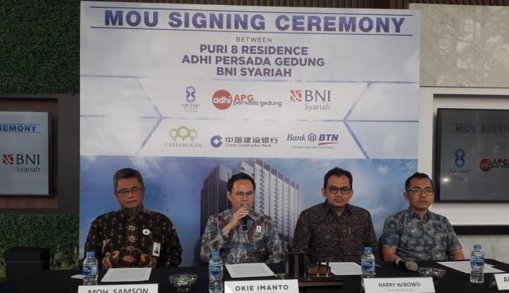Gandeng Adhi Persada Gedung, Greenwoods Bangun Apartemen Puri 8 Residence - Warta Ekonomi