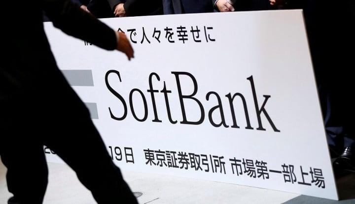 Kapitalisasi Pasar SoftBank Turun 12 Miliar Dolar, Ini Sebabnya!