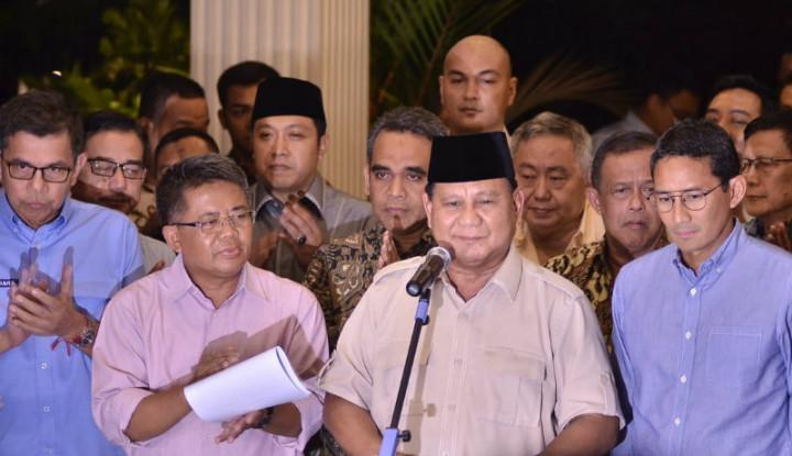 BPN Bilang Banyak Gosip Berseliweran: Prabowo Gabung ke Jokowi - Warta Ekonomi