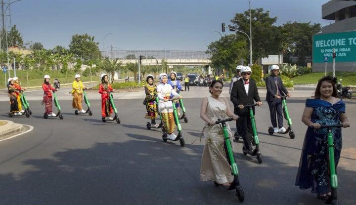 Gandeng Grab, Bintaro Jaya Luncurkan GrabWheels - Warta Ekonomi