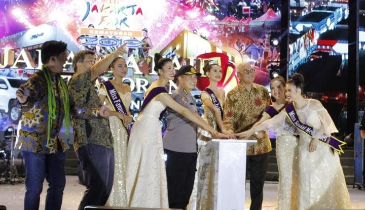 Tarik 6,8 Juta Pengunjung, Jakarta Fair Catatkan Transaksi Rp7,5 triliun - Warta Ekonomi