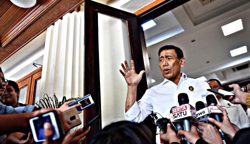 Foto Wiranto Beberkan Bukti Kalau Jokowi Tuh . . .