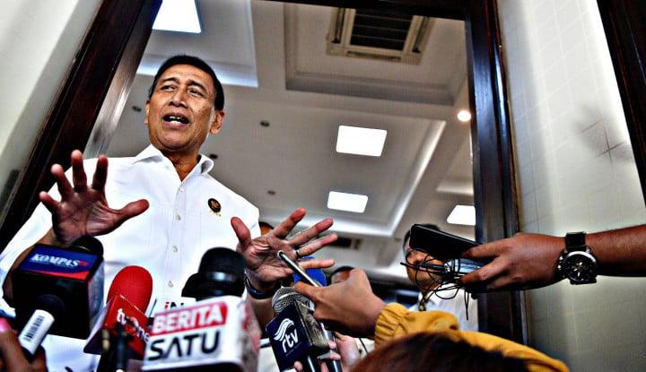 Wiranto: WNA Tak Dilarang ke Papua, Hanya Dibatasi - Warta Ekonomi