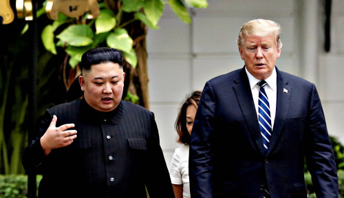 Foto Tanpa Ada Imbalan, Korut Tak Akan Tawarkan Apapun pada Trump