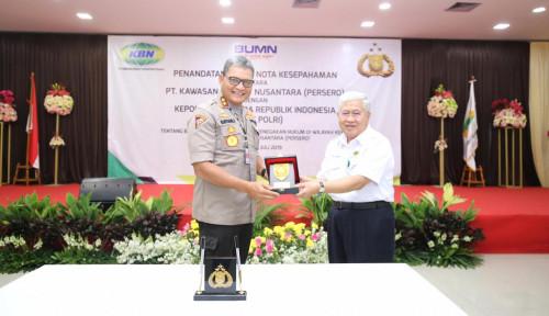 Foto Tingkatkan Keamanan Wilayah Kerja, KBN Gandeng Mabes Polri