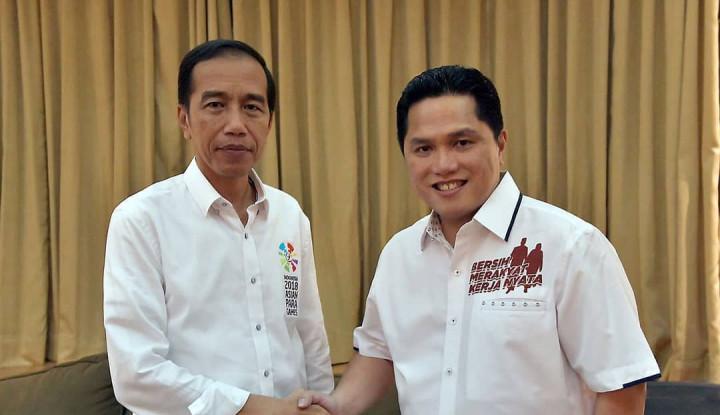 Jokowi Apresiasi Keputusan Tegas Erick Thohir Terkait Kasus Garuda - Warta Ekonomi