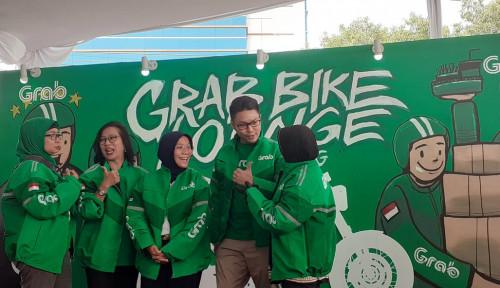 Foto Buka Lounge Ketiga di TB Simatupang, Grab Gratiskan Cuci Motor Sampai....