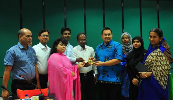 Banglades Apresiasi Pertanian dan Pengelolaan Informasi Pertanian Indonesia - Warta Ekonomi