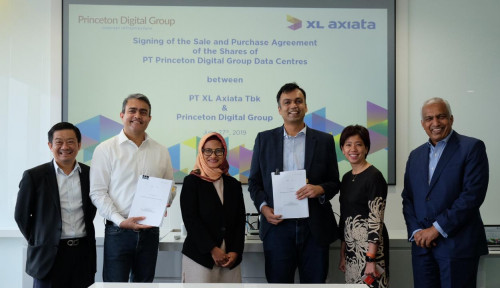 Foto Perusahaan Singapura Akuisisi 70% Saham Data Center XL Axiata