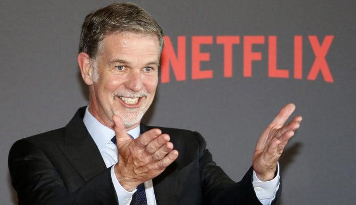 Bakal Kena Pajak di Indonesia, Berapa Harta Kekayaan Pendiri Netflix setelah Corona?