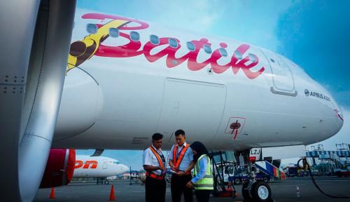 Foto Batik Air Datangkan Pesawat Buatan Kompetitor Boeing
