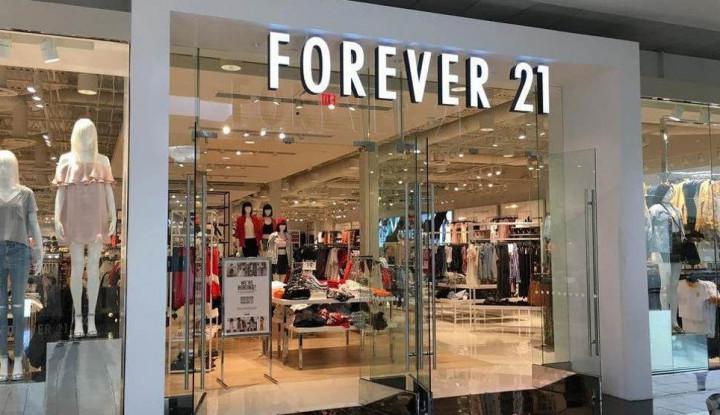 Forever 21 Bangkrut, Asetnya Bakal Dijual Senilai Rp1,13 Triliun - Warta Ekonomi