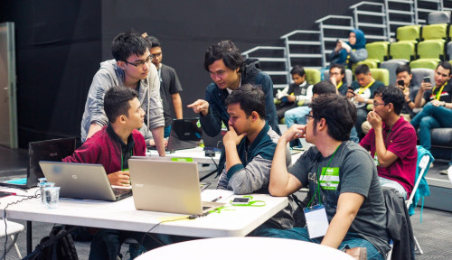 Foto Go-Jek dan UI Bakal Cetak 8,000 Mahasiswa Jadi Tech Engineers Dunia