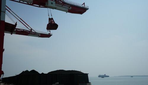 Foto Resmikan Terminal Batu Bara, PLN Kebut Penyelesaian PLTU Jawa 7