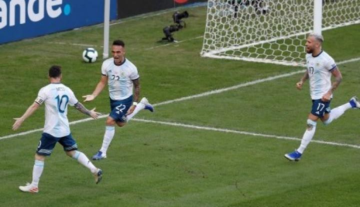 Argentina Kalahkan Chile 2-1, Rebut Juara III