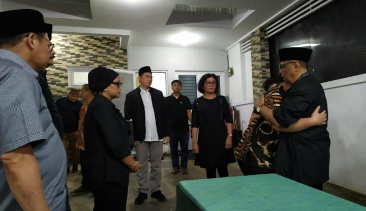 Menlu Retno Pimpin Prosesi Penyerahan Jenazah Sutopo