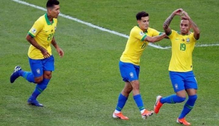 Kalahkan Peru, Brasil Keluar Jadi Juara Copa America 2019 - Warta Ekonomi