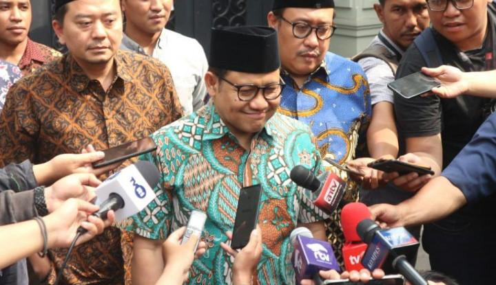 Cak Imin Bantah Minta Dukungan JK Soal Jatah Menteri - Warta Ekonomi