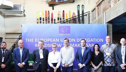 Foto Kunjungi Makassar, Diplomat Uni Eropa Perkuat Hubungan dengan Sulawesi Selatan