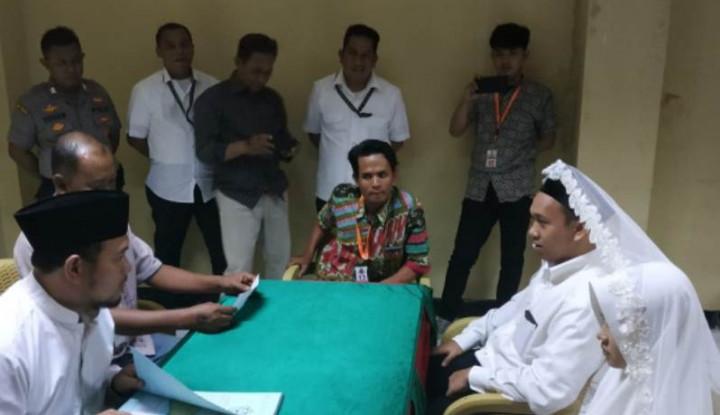 Pengancam Penggal Kepala Jokowi Menikah di Tahanan - Warta Ekonomi