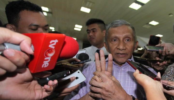 Amien Rais: Pak Jokowi, Tolong Jangan Wariskan Masalah, Jangan!! - Warta Ekonomi
