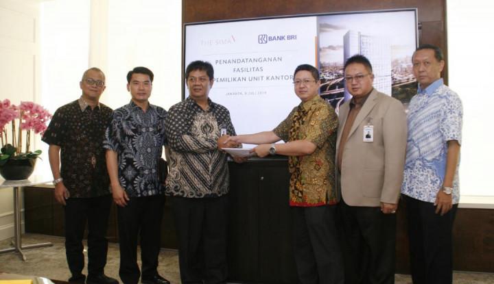 Mulai Jualan The Sima OfficeTower, GTU Gandeng dengan BRI - Warta Ekonomi