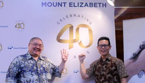 Foto Rayakan 40 Tahun, RS Mount Elizabeth Pererat Kemitraan