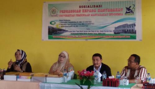 Foto Tingkatkan Perekonomian Rakyat, UPMI Sosialisasikan Pembuatan Bolu Tape