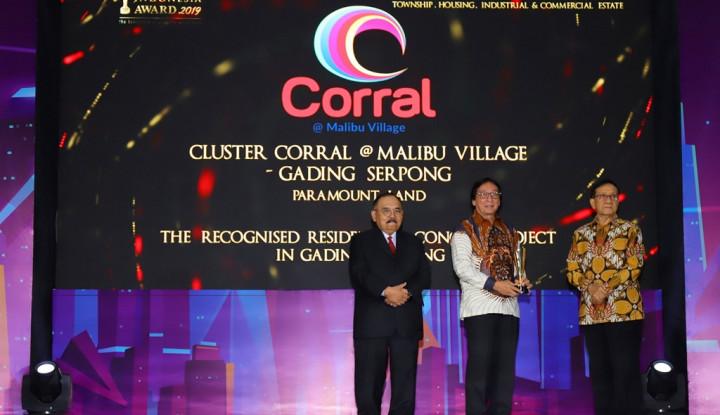 Berkat Hunian Milenial, Paramount Land Sabet Penghargaan PIA 2019
