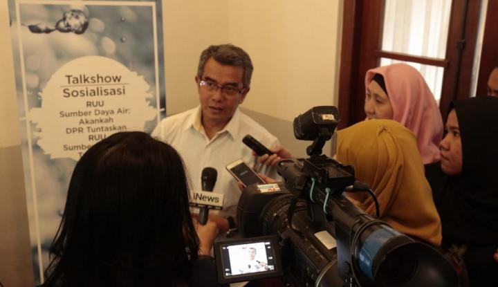 DPR Janji Tuntaskan RUU SDA Oktober 2019