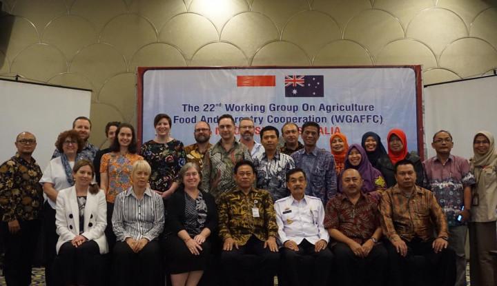 Gelar Pertemuan Bilateral, Indonesia Perkuat Akses Pasar Pertanian ke Australia - Warta Ekonomi