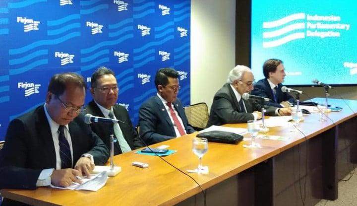 Dorong Kerja Sama RI Brazil, DPR Dekati KADIN Rio de Janeiro - Warta Ekonomi