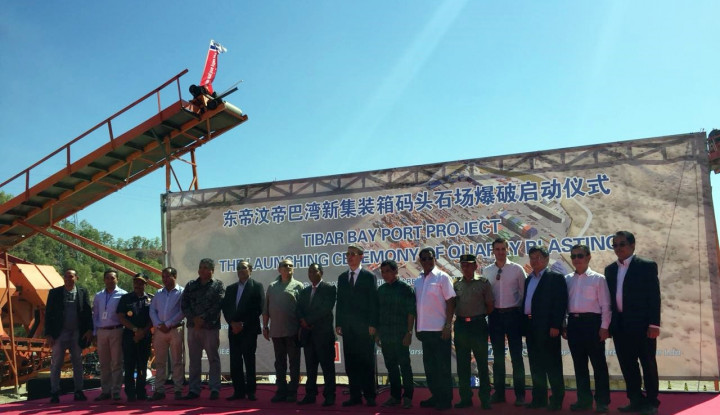 Dahana Garap Proyek Peledakan Pelabuhan Internasional Timor Leste - Warta Ekonomi