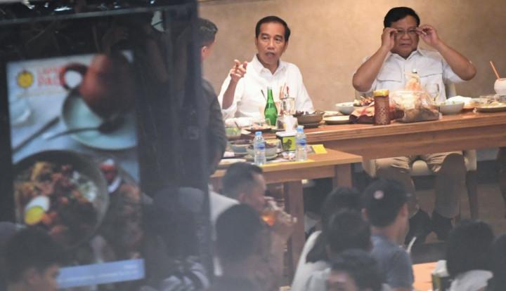 Habib Rizieq Sama Sekali Tak Dibahas Jokowi-Prabowo