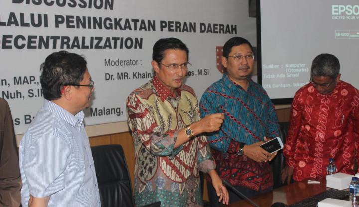 Fadel Muhammad: DPD Kuat, Daerah Bisa Hebat