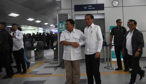 Foto Aktor di Balik Pertemuan Jokowi-Prabowo, Luhut: Bukan karena Satu-Dua Orang
