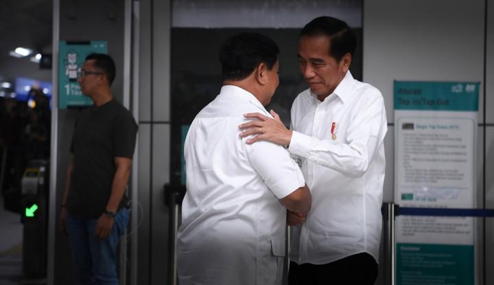 Akhirnya Ketemu, Jokowi-Prabowo Dinilai Tak Mau Rakyat Terbelah Terlalu Lama - Warta Ekonomi