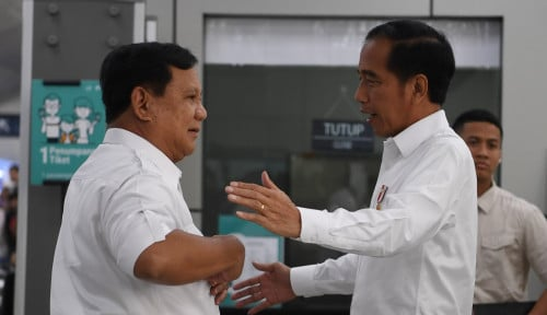 Foto Gerindra Makin Lengket dengan Istana, PKS Gak Baper?