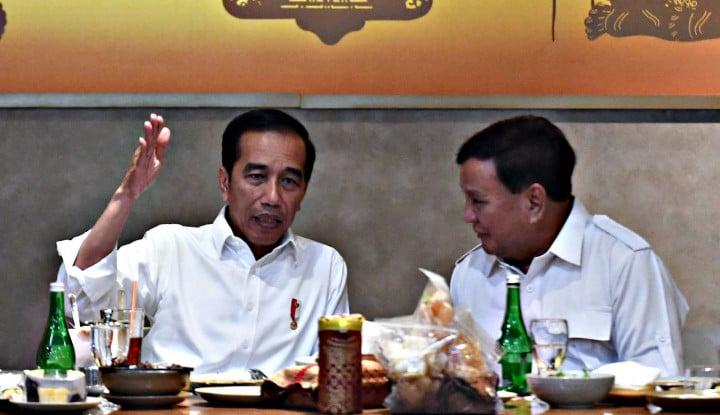 Ternyata Ada Udang di Balik Batu! Gerindra Ngaku Prabowo Punya 'Kepentingan Besar' saat Temui Jokowi - Warta Ekonomi