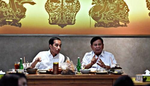Foto Sony Subrata: Jokowi-Prabowo Bersatu, #03PersatuanIndonesia Trending Topic