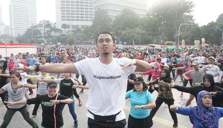 Car Free Day Meriahkan Peringatan Harkopnas ke-72 di Jakarta