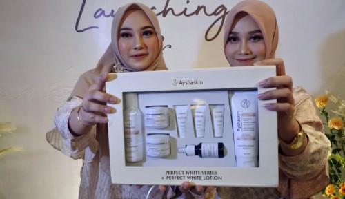 Foto Andalkan Medsos, Ayshaskin Siap Bersaing di Pasar Kosmetik Lokal