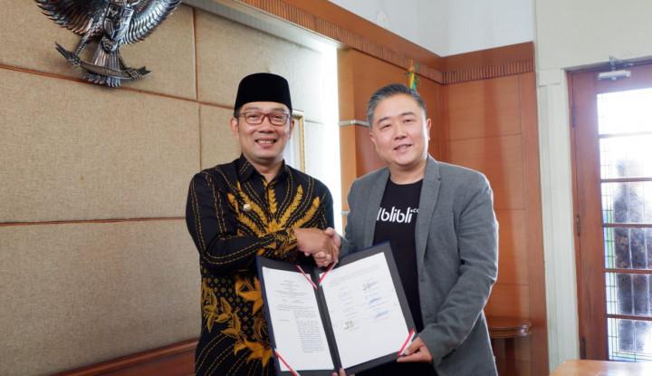 Pemprov Jawa Barat dan Blibli.com Gandengan Tingkatkan UMKM - Warta Ekonomi