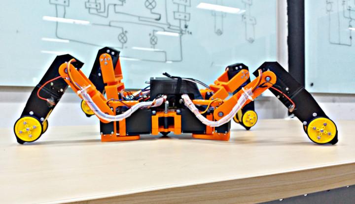Mahasiswa Atma Jaya Kembangkan Robot Pendeteksi Gempa - Warta Ekonomi