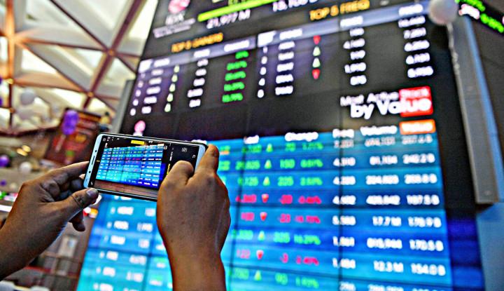 Selasa Sore, Asing Cabut Dana Rp1 Triliun dari Pasar Modal - Warta Ekonomi