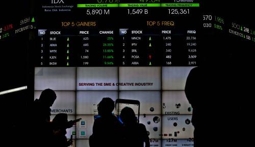 Investor Asing Catatkan Nett Sell Rp1,04 Triliun