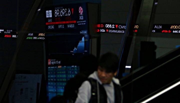 Pasar Investasi Indonesia Tumbang di Senin Siang - Warta Ekonomi
