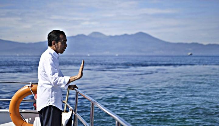 Indonesia-China Lagi Panas, Akhirnya Jokowi ke Natuna - Warta Ekonomi